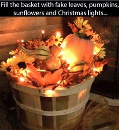 Over 50 of the BEST DIY Fall Craft Ideas - Kitchen Fun With My 3 Sons fall diy c. Deco Champetre, Autumn Decorating, Decorating Ideas, Decorating With Gourds, Front Porch Decorating For Fall, Front Porch Fall Decor, Fall Projects, Diy Projects, Backyard Projects