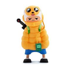 Adventure Time Puff Jake N Lil Finn Med Figure - Kidrobot - 1