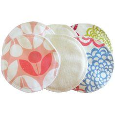 #ItzyRitzy Glitzy Gals Washable Nursing Pads Set, GG1006 (Floral)