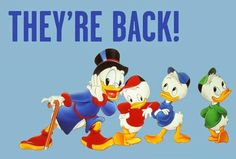Welcome back childhood! Disney's DuckTales Returns In 2017 With New Series!!....http://goo.gl/Irz7wO