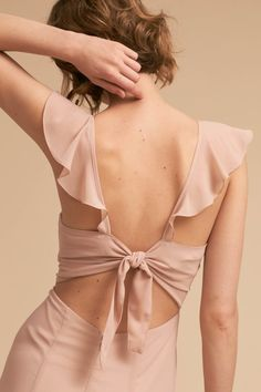 Shop unique and affordable bridesmaids dresses at BHLDN. Browse different bridesmaid dress colors and lengths with convertible styles in colors and ways to wear! Dress Outfits, Casual Dresses, Fashion Dresses, Spring Bridesmaid Dresses, Summer Dresses, Bridesmaids, Kleidung Design, Fancy Blouse Designs, Kinds Of Clothes