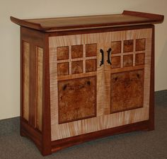 Bubinga & Maple Credenza - Reader's Gallery - Fine Woodworking