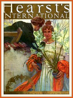 1922 July - Cover - Hearst's - artist, Alfonse Mucha.