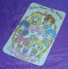SAILOR MOON CARD STICKER PRISM  MY MELODY KAWAII CUTE COLLECTIBLE SAILORMOON  | eBay