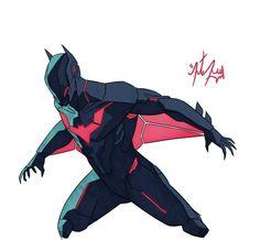 Batman Hq, Batman Arkham, Batman Robin, Dc Comics Art, Marvel Dc Comics, Batman Concept, Batman Redesign, Batman Drawing, Nananana Batman
