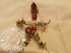 lucky money coin charm pocket voodoo doll