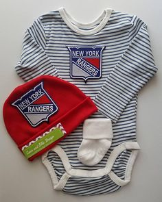 New York Rangers baby outfit-baby new york rangers-ny rangers