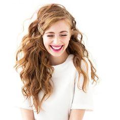 Coupe cheveux bouclés femme printemps été 2015