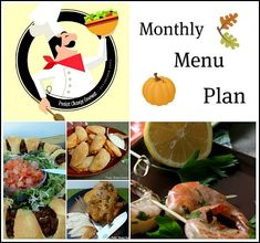 Fall-Monthly-Menu-Plan November