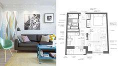 擁有完美機能的繽紛柔和小公寓 | 設計家 Searchome - 華文最大室內設計社群平台
