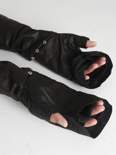 M.A+ lined leather gloves