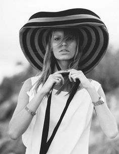 in hats