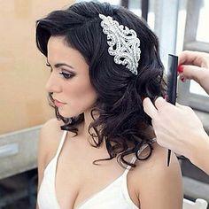 rhinestone hecho a mano de cristal casco nupcial pelo nupcial accesorios de la boda / vinchas para ocasiones especiales - EUR € 18.17