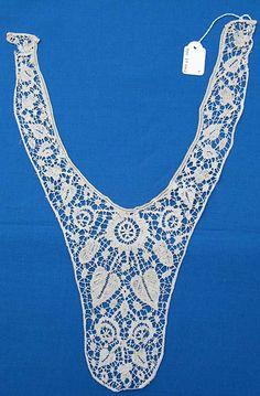 Bedfordshire bobbin lace bodice front...19th century