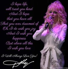 I Will Always Love Dolly Parton Dolly Patron, I Wish You Happiness, Dolly Parton Quotes, Custom Cowboy Boots, Vintage Western Wear, Honky Tonk, Living Legends, Vintage Humor, Always Love You