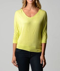10/11/14 Lemon Cutout Scoop Neck Sweater - $13.99