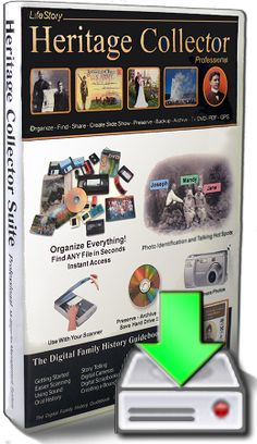 Heritage Collector Suite 7.5--software to help organize your family history