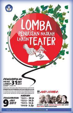 #LombaKaryaTulis #LombaPenulisan #NaskahLakonTeater #Kemendikbud Lomba Penulisan Naskah Lakon Teater Kemendikbud 2017 Berhadiah Total 93 Juta Rupiah  DEADLINE: 31 Mei 2017  http://infosayembara.com/info-lomba.php?judul=lomba-penulisan-naskah-lakon-teater-kemendikbud-2017-berhadiah-total-93-juta-rupiah