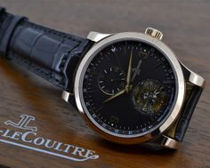 European Watch Company: Jaeger LeCoultre Master Grand Tourbillon 18K Rose Gold / Brown Dial.....WHO says yes to this dial?