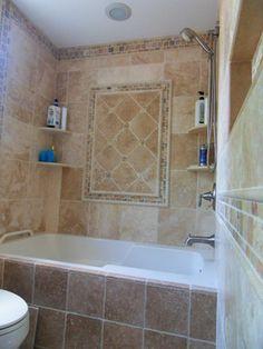 Tumbled Travertine Bathroom - traditional - Bathroom - Philadelphia - StoneMar Natural Stone Company LLC
