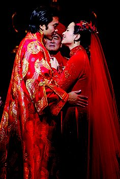 """Jose Llana and Lea Salonga in """"Flower Drum Song"""" on Broadway, 2002"""