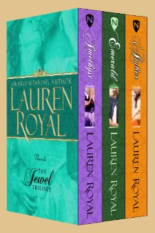 Lauren's Jewel Trilogy—3 novels in one specially priced set! The four Chase children were orphaned when their parents died defending the king in the English Civil War. Raised on the Continent in the midst of Charles II's exiled court, they accompanied his triumphant return to England in 1660. The family estate was restored to oldest brother Jason, and his younger brothers were granted estates and titles as thanks for their family's sacrifice. But none of the Chases have found love...