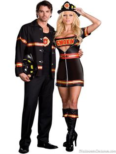 fireman couples halloween costume - Halloween Costumes 2013  sc 1 st  Pinterest & 148 best Couples Halloween Costumes images on Pinterest | Halloween ...