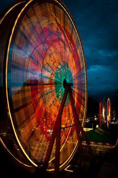 big wheel keep on turnin'.