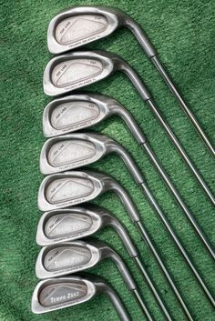 lynx parallax 5, 6, 7, 8, 9 irons - used golf club set #lynx
