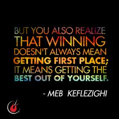 How do you get the best out of your run? #runspiration #runningquotes #mebkeflezighi