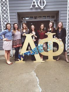 Alpha Phi- Psi Chapter strengthen their sisterhood by hosting an open house brunch to the community!