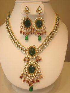 Polki Jewelery Set : Fashion, Beauty