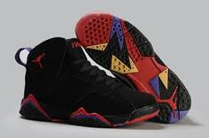 air jordan 7 retro black red