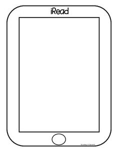 Free: My plan is to print on colored paper/cardstock, add a picture of the student reading to the top of the iPad template, then have them write underneath it about why they like reading. When I get this done and have pictures of my own board, I'll add pictures! :)