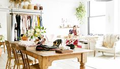 Ulla Johnson gives Barneys an inside look at her globally influenced New York workspace and her sophisticated collection.