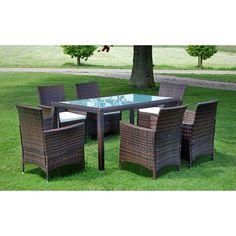 Rattan Gartenmöbel Von Beliani® - Lounge Inkl. Kissen - Model ... Rattan Gartenmobel Terrassen Ideen