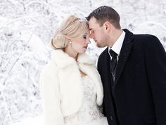 Tanja & Henkka | A real Finnish winter wedding on Best Day Ever