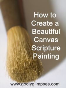 How to Make a Beautiful Canvas Painting (with no experience required!)