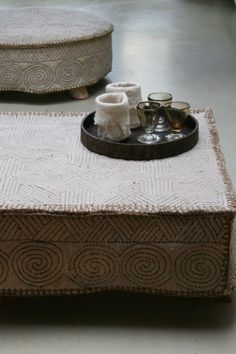 Decor | 装飾 | Decoración | Arredamento | Décor | декорации | Manchester | Furnishings | Interior Design | Details | Mongolian felted poof