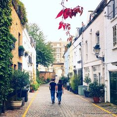 Ever since I moved to London, I've come to appreciate the city's more subtle highlights. In particular, the mews.