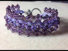 Ruby Lockwood's  Beaded Chantilly Lace Bracelet #Seed #Bead #Tutorials