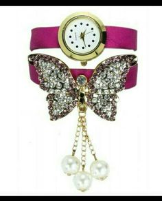 Check out Beautiful Butterfly Watches - Pink on Shopo - http://shopo.in/products/2544236?referrerid=540972&utm_source=Share&utm_medium=Android&utm_campaign=PDP&utm_content=MyProfile