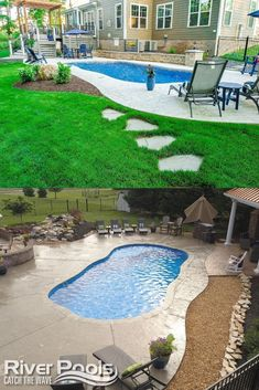 Shopping for a small inground swimming pool for your home? Here is what you need to know about small inground pools! #home #ingroundpool #swimmingpool