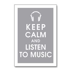 music keeps me going...