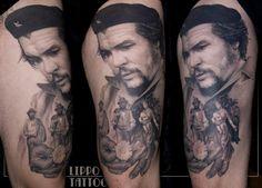 Che Guevara by Ritratti at Lippo Tattoo in Frosinone, Italy