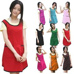Buy Korean household aprons hairdressing work apron, 79,177 women head-free Department of waiter aprons, $4.03/piece | JOJbuy.com