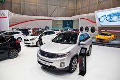 Kia auf dem internationalen Autosalon Genf 2014.