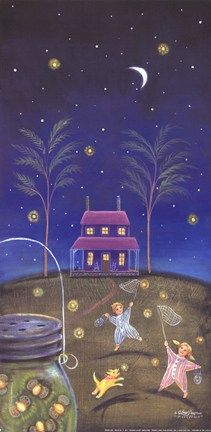 40 best Fireflies Forever images on Pinterest   Fireflies  Glow     Fireflies by Donna Lacey Derstine