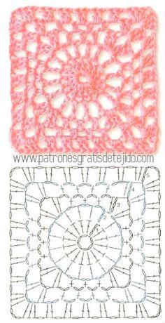 granny crochet pattern                                                                                                                                                                                 Má