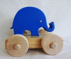 Mini Elephant Push Toy